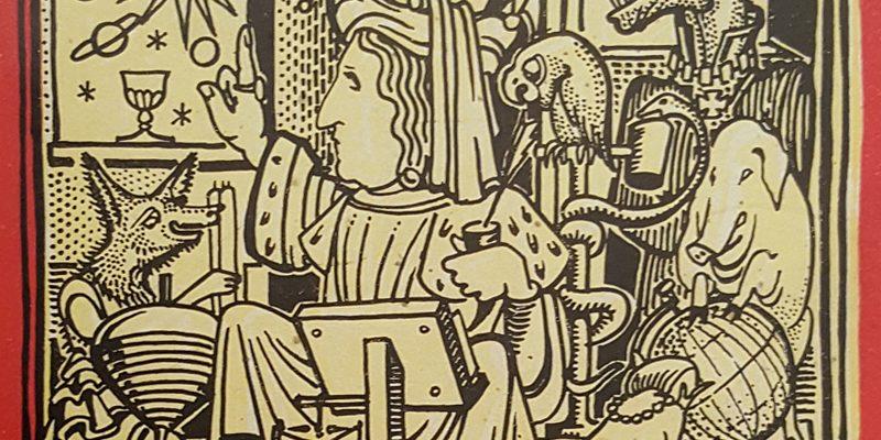 Carlo Emilio Gadda, Il primo libro delle favole. Disegni di Mirko Vucetich. Venezia, Neri Pozza, 1952. Biblioteca Universitaria di Pavia: Novecento Gadda 6