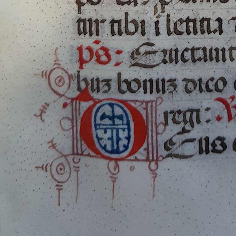 Biblioteca Universitaria di Pavia, Ticinesi 814, Messale romano. Membr., 325 cc., 252 x 185 mm.