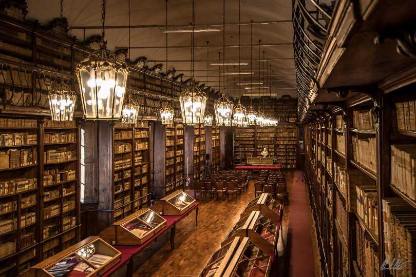 Salone Teresiano della Biblioteca Universitaria di Pavia