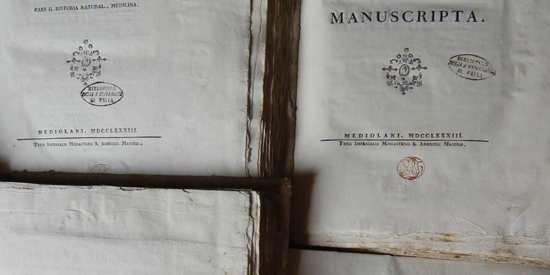Bibliotheca Firmiana sive Thesaurus librorum quem excellentiss. comes Carolus a Firmian ... magnis sumptibus collegit. Vol 1: Theologia. Mediolani, typis Imperialis Monasterii S. Ambrosii Majoris, 1783 (136 I 9)
