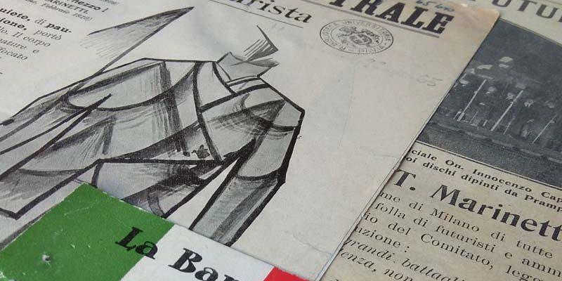 Documenti del fondo Marinetti