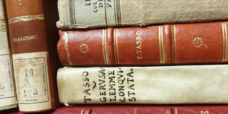 Libri del fondo tassiano di Antonio Terzi