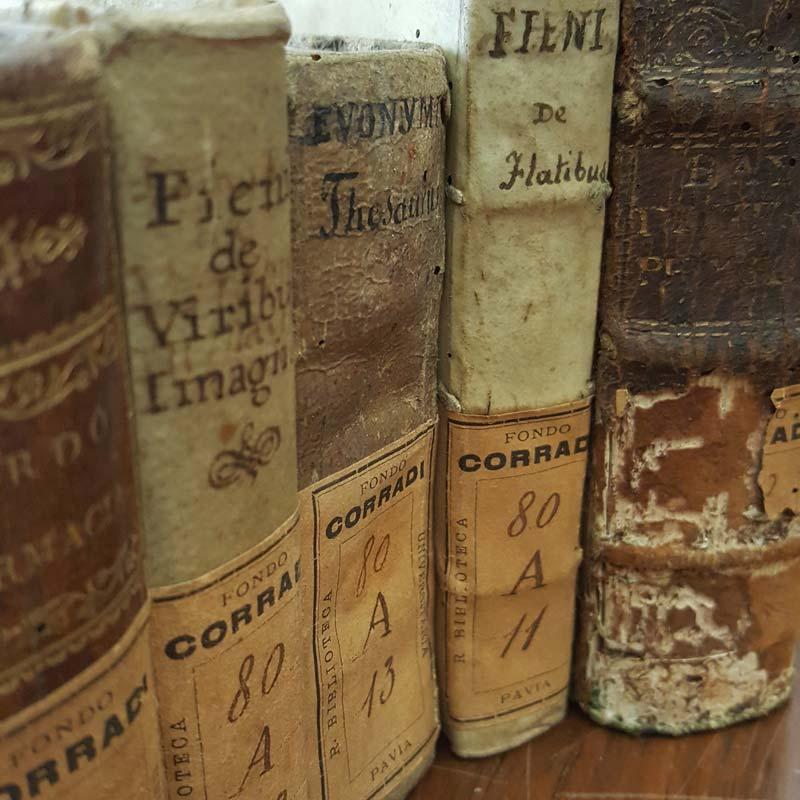 Libri del fondo Corradi