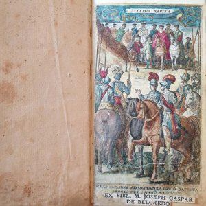 Alessandro Tassoni, La secchia rapita, poema eroicomico, e'l primo canto dell'Oceano del Tassone. In Ronciglione, ad instanza di Gio. Batista Brogiotti, 1624 (Rari A 21)