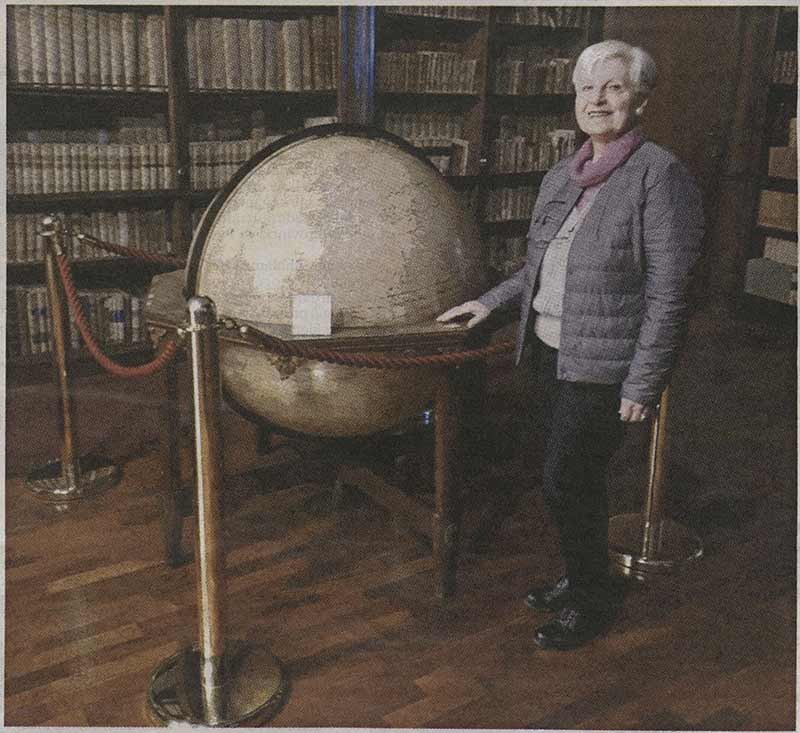 Annalisa Alberici mecenate della Biblioteca Universitaria di Pavia