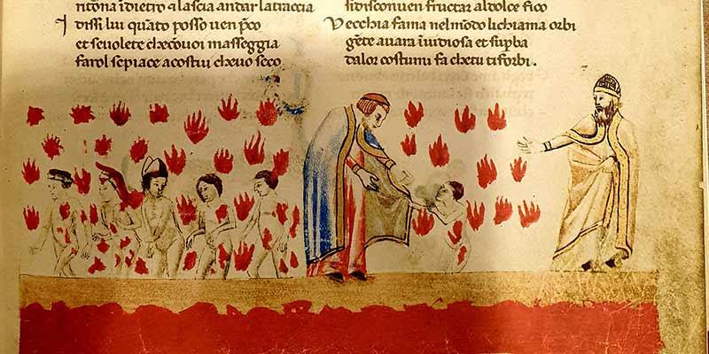 Dante Alighieri, Divina Commedia. Codex Altonensis, Berlin, Mann, 1965